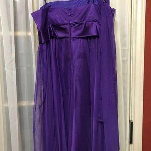 Dresses & Skirts - Purple party dress